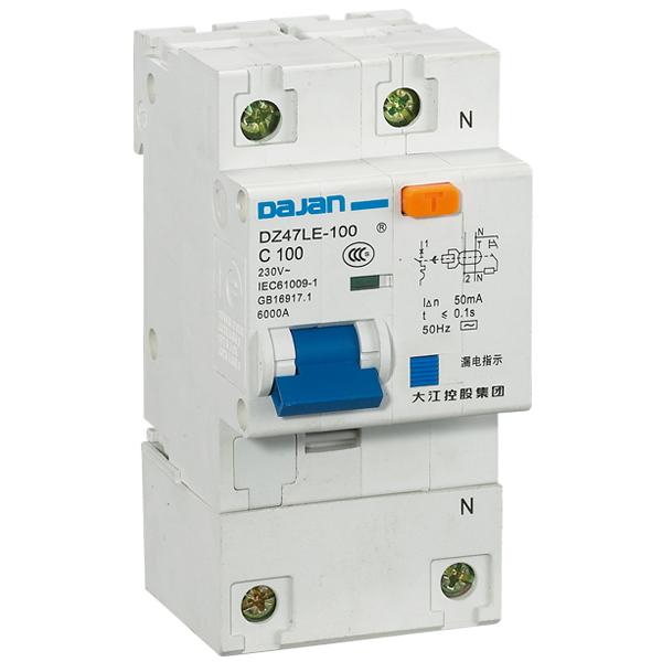 DL47LE-100 系列漏电断路器