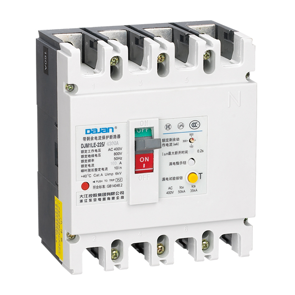DJM1LE 系列漏电断路器