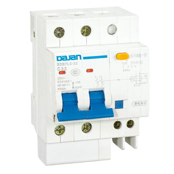 SDB7LE-32 系列漏电断路器